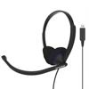 Koss Headset CS200-USB On-Ear Mic Black