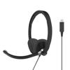 Koss Headset CS300 On-Ear USB Black