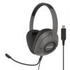 Koss Headset SB42 USB Over-Ear Mic Remote Black