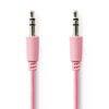 Nedis 3.5mm Ma > 3.5mm Ma 1m Pink