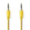 Nedis 3.5mm Ma > 3.5mm Ma 1m Yellow
