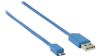Nedis USB 2.0 A Ma > Micro B Ma 480 mbps 1m Blue