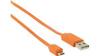 Nedis USB 2.0 A Ma > Micro B Ma 480 mbps 1m Orange