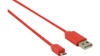 Nedis USB 2.0 A Ma > Micro B Ma 480 mbps 1m Red