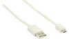 Nedis USB 2.0 A Ma > Micro B Ma 480 mbps 1m White