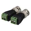 Adapter Screw terminal > BNC 2-pack