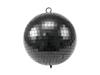 Mirror Ball 20cm black matt