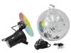 Mirror Ball Set 30cm with Pinspot