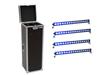 Eurolite Set 4x LED IP T-Bar 16 QCL Bar + Case