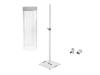Eurolite Set LED Color Curtain + BPS-2 Loudspeaker stand white