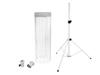 Eurolite Set LED Color Curtain + BS-2 EU Loudspeaker stand white