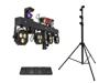 Eurolite Set LED KLS Scan Next FX Compact Light Set + Foot switch + Steel stand