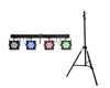 Eurolite Set LED KLS-3002 + STV-40S-WOT Steel stand