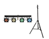 Eurolite Set LED KLS-902 + STV-40S-WOT Steel stand