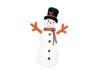 Inflatable Figure Snowman 180cm