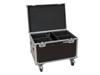 Roadinger Flightcase 4x LED Theatre COB 200 series with wheels