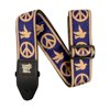 Ernie Ball EB-4699 Peace Love Dove Strap Beige & Blue