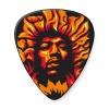 Dunlop JHP14HV Jimi Hendrix Voodoo Fire Guitar Picks 6-pack