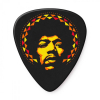 Dunlop JHP16HV Jimi Hendrix Aura Mandala Guitar Picks 6-pack