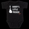 Gibson Daddy's Little Rocker Les Paul Onesie (Black)