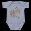 Gibson Hummingbird Onesie (Gray)