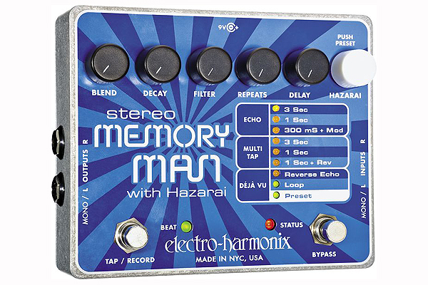 Electro-Harmonix Stereo Memory Man Hazarai
