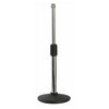 DAP Audio D8202C Desk Mic Stand Straight Adjustable [3 pcs left]