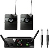 AKG WMS 40 MINI Dual Instrumental Set ISM2/3