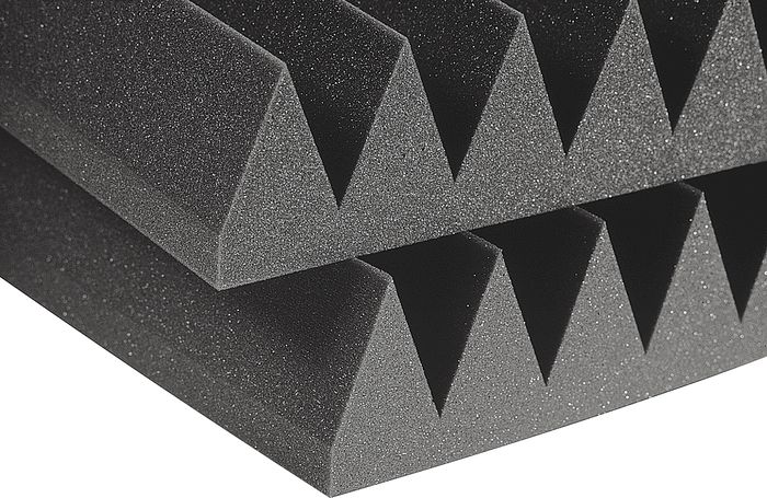 Auralex 4' Studiofoam Wedges Charcoal