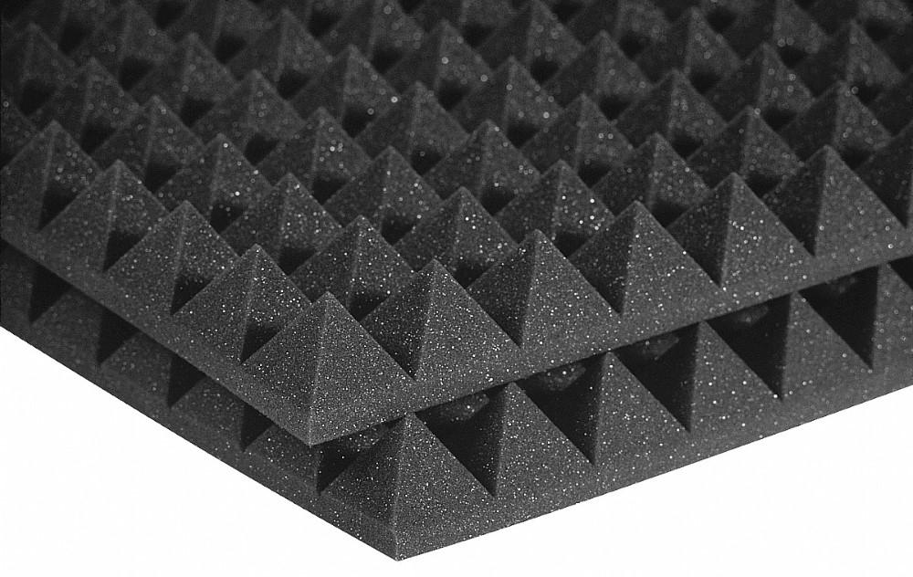 Auralex 2' Studiofoam Pyramids Charcoal