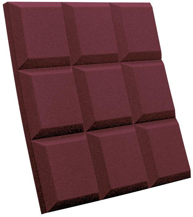 Auralex Sonoflat Grid Burgundy