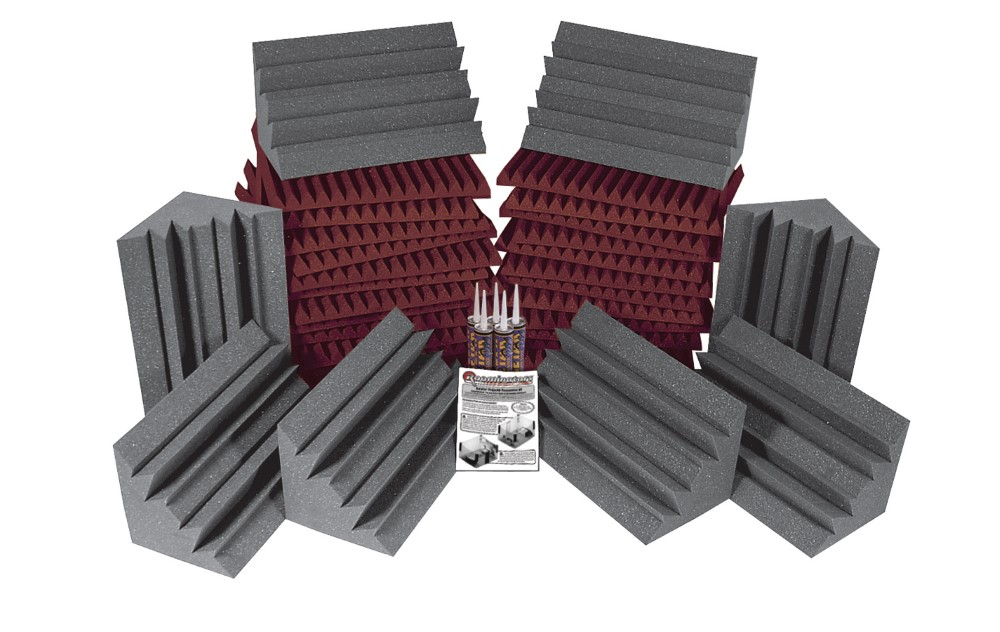 Auralex Project 2 Roominator Kit Gray/Burgundy