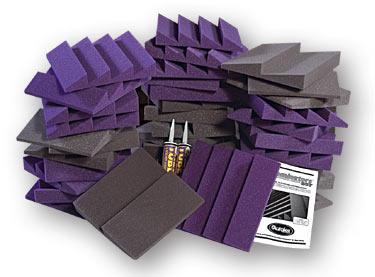 Auralex D36-DST Roominator Kit Gray/Purple