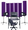 Auralex Sunburst 360 Purple