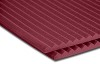 Auralex StudioFoam Wedges 1219x610x25mm Burgundy 20-pack