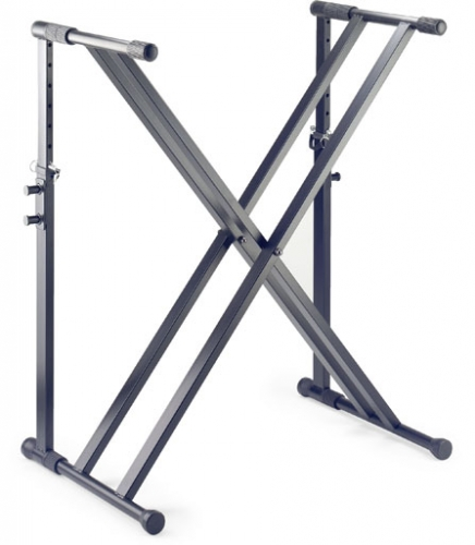 Stagg Double X keyboard Stand Black