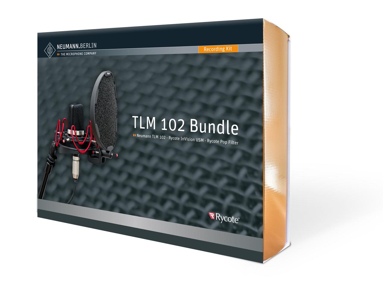TLM 102 NI [Nickel] Rycote Bundle