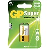 GP Batteries Super 1604A-5U1 / 6LF22 / 9V Blister 10-pack