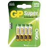 GP Batteries Super 24AE-2U4 / LR03 / AAA 4-pack