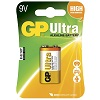 GP Batteries Ultra 1604AU-5U1 / 6LF22 / 9V blister 10-pack
