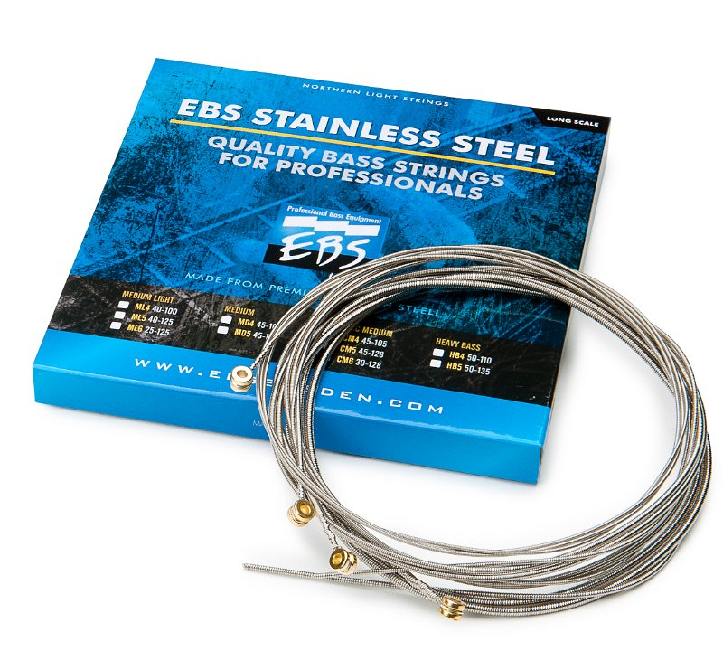 EBS Stainless Steel Bass Strings 50-110