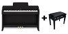 Casio AP-460 Black inc Stool
