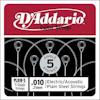 D'Addario PL010-5