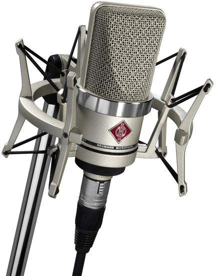 Neumann TLM 102 NI [Nickel] Studio Set