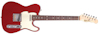 Fretking GREEN LABEL C'SQUIRE CLASSIC - CANDY APPLE RED