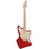 Fretking GREEN LABEL VENTURA 60 - CANDY APPLE RED MAPLENECK