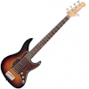 Fretking BLACK LABEL PERCEPTION 5 BASS - CLASSIC BURST