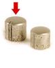 Knob big, Nickel aged