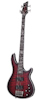 Schecter Hellraiser Extreme-4 Crimson Red Burst Satin