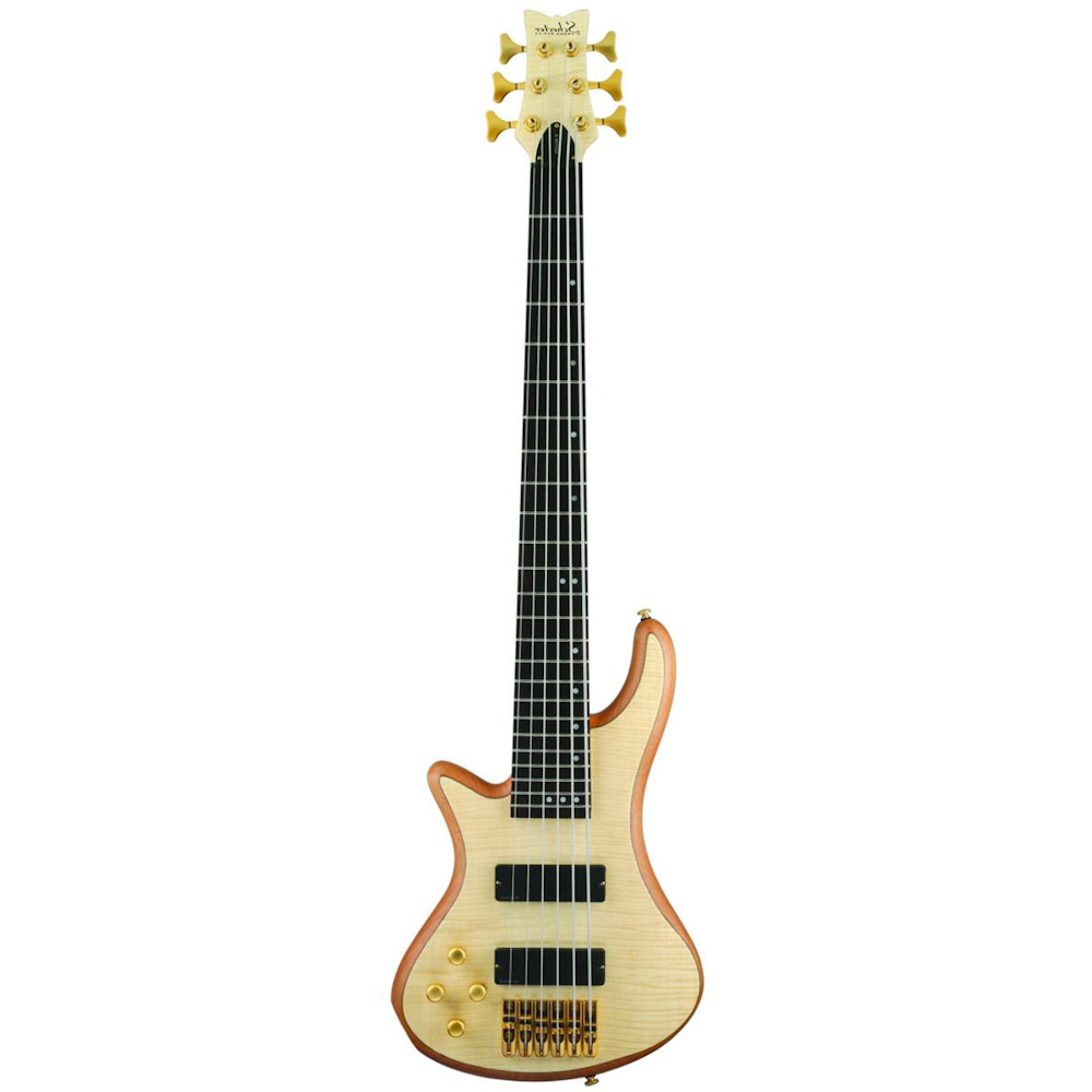 Schecter Stiletto Custom-6 Natural LEFT